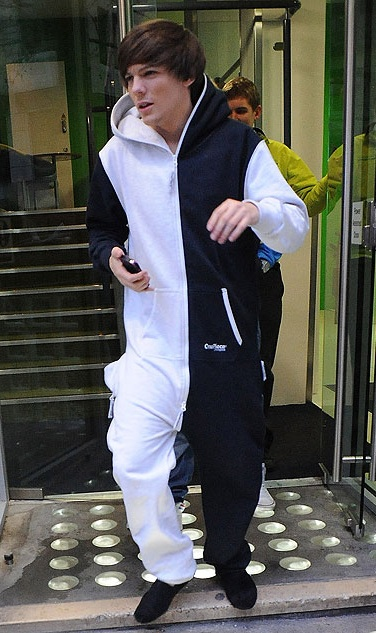 One Direction's Louis Tomlinson in his OnePiece